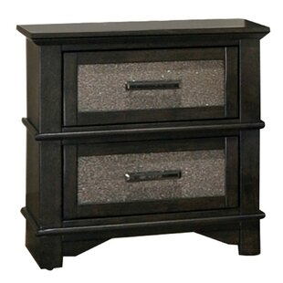 Gail 2 Drawer Nightstand