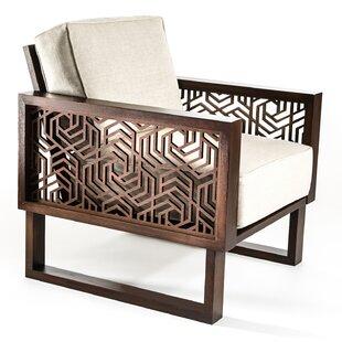 Brayden Studio Flavien Geometric Armchair