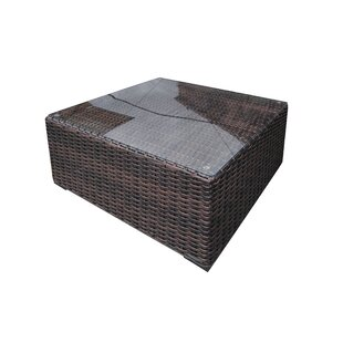 Santa Monica Wicker Coffee Table
