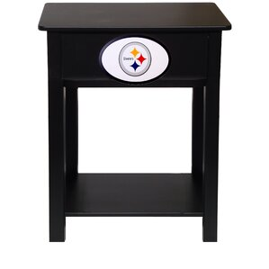 Lovely Nfl End Table With Storage