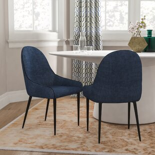Enright Upholstered Dining Chair (Set of ..