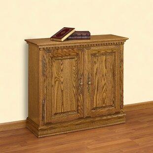 A&E Wood Designs Britania Storage Cabinet