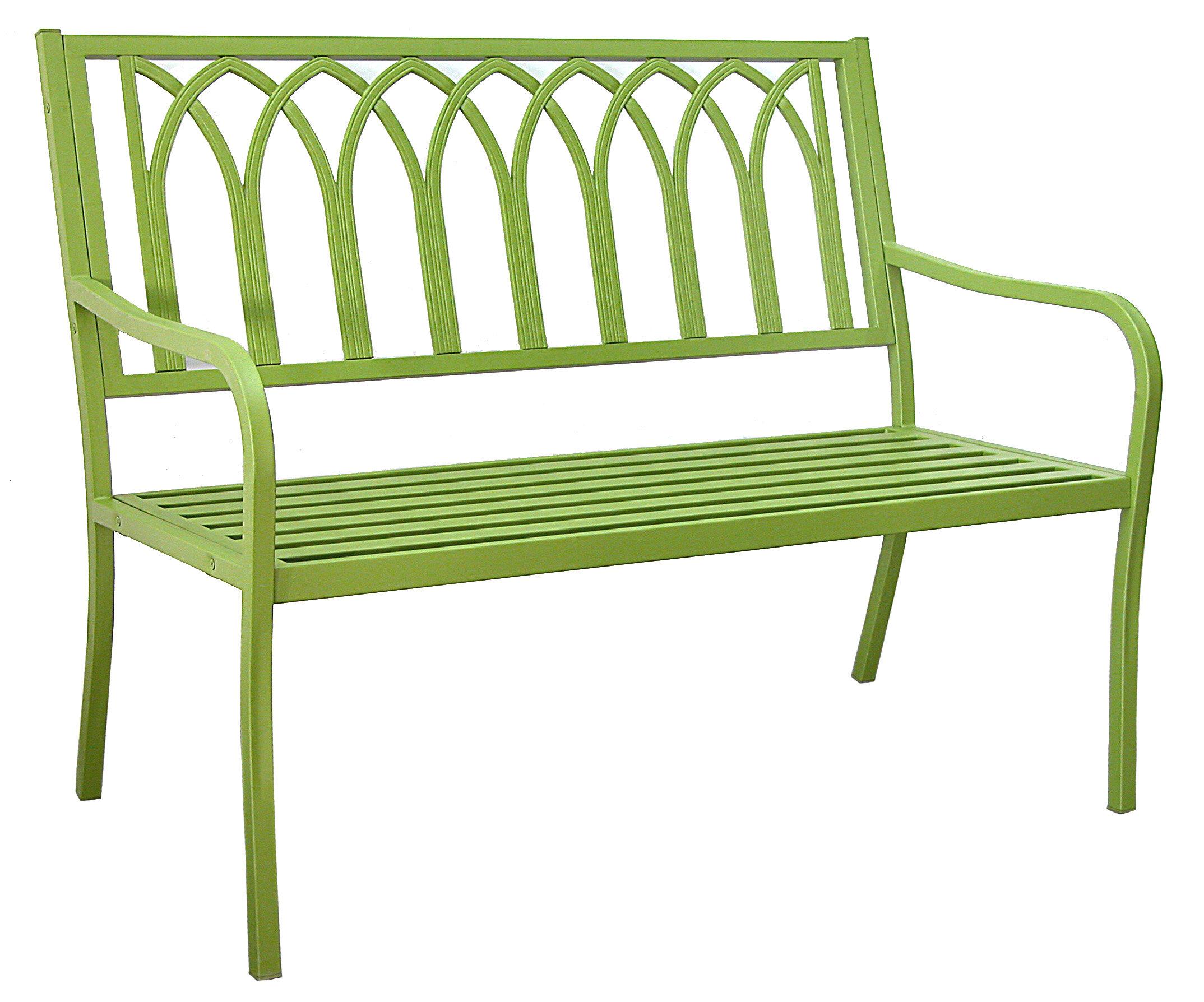 Excellent Blankenship Steel Garden Bench Ibusinesslaw Wood Chair Design Ideas Ibusinesslaworg