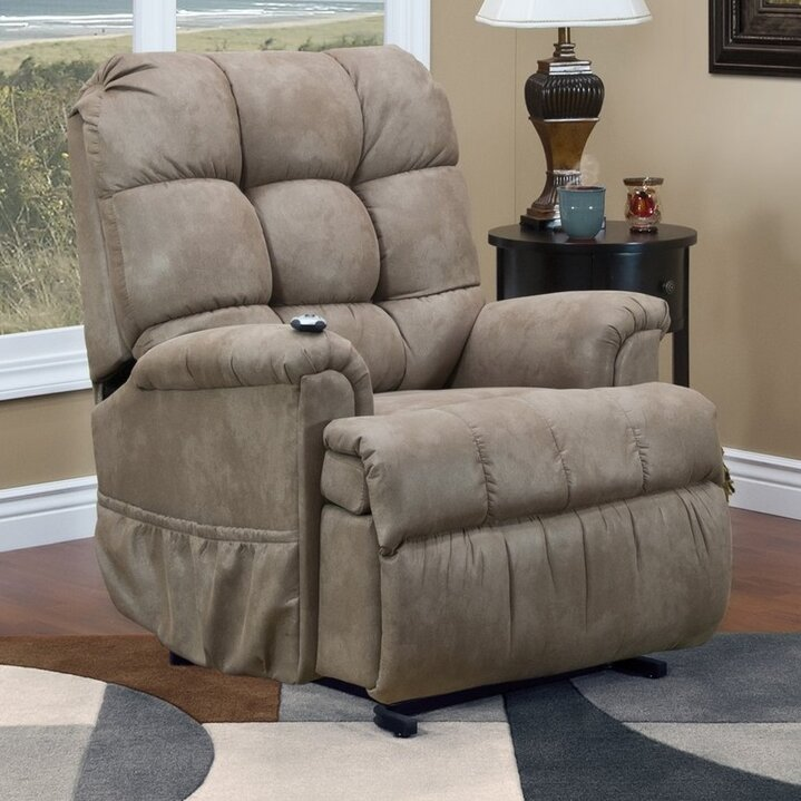 series petite sleeper power lift assist recliner