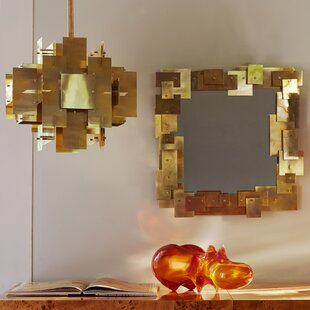 Puzzle 2-Light Shaded Chandelier by Jonathan Adler