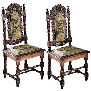 Charles II Upholstered Dining Chair (Set ..