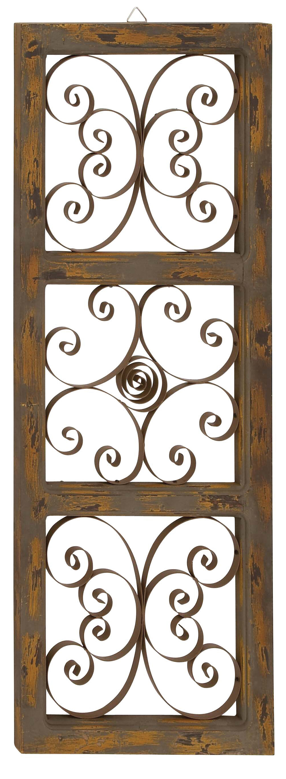 Wood And Metal Door Wall Decor Cool Three Posts Wood And Metal Wall Décor & Reviews  Wayfair Design Ideas
