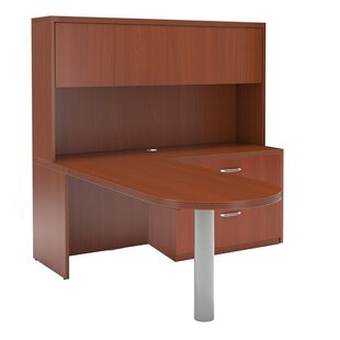 Aberdeen Series L-Shape Executive Desk with Hutch
