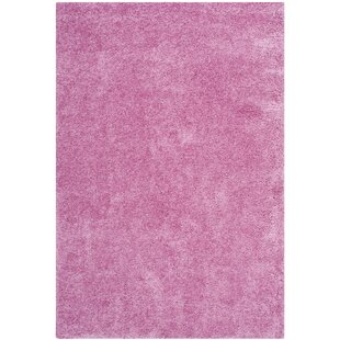 Ariel Power Loomed Pink Area Rug