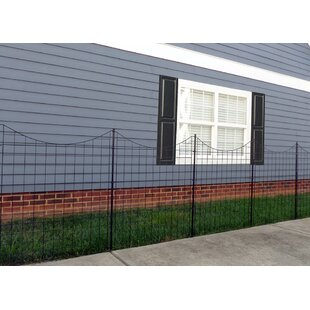 Metal Garden Fence (Set Of 5)