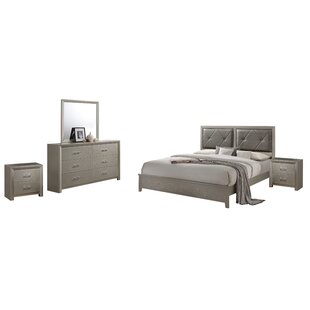 Easterling Panel 5 Piece Bedroom Set