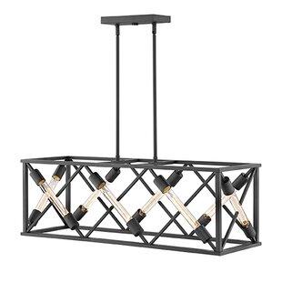 Hinkley Lighting Hewitt 8-Light Rectangle Chandelier