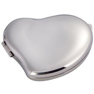 Poteat Heart Makeup Mirror By Winston Porter