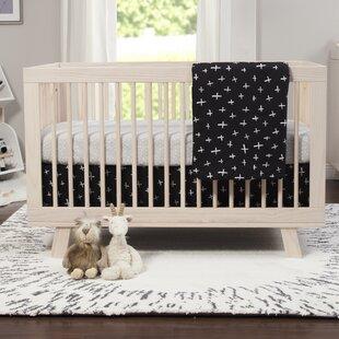 Bargain Tuxedo Monochrome Crib Skirt Bybabyletto