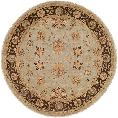 Chongqing Hand Knotted Light Bluebrown Area Rug Wildon Home Rug Size Runner 26 X 8