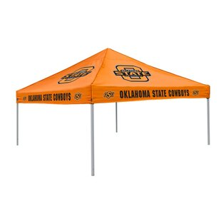 Collegiate 9 Ft. W x 9 Ft. D Steel Pop-Up Canopy - Oklahoma State by Logo Brands