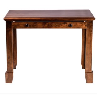 Jeremy 54 W Drawer Writing Desk by Millwood Pines Savings