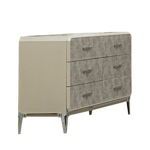 Liz 6 Drawer Double Dresser