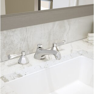Symmons Canterbury Widespread Bathroom Faucet with Drain Assembly