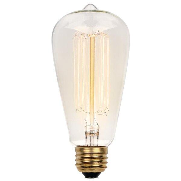 2-Pack Kichler 40W Equivalent 4w Dimmable B10 Vintage LED Decorative Light Bulb