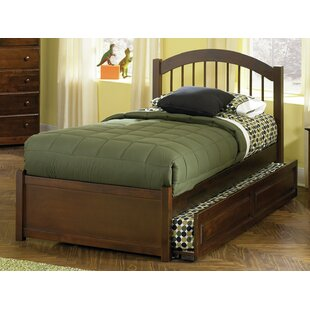 Inexpensive Matt Panel Bed with Trundle by Viv + Rae Reviews (2019) & Buyer's Guide