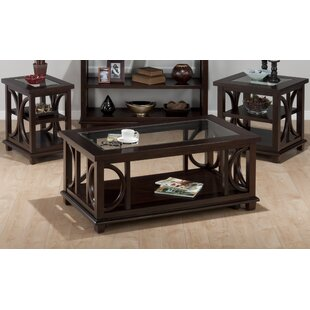Arnemuiden 3 Piece Coffee Table Set
