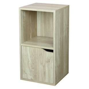 Wood Storage 2 Cube Bookcase by Home Basics