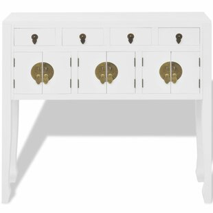 Halton Chinese Console Table By World Menagerie