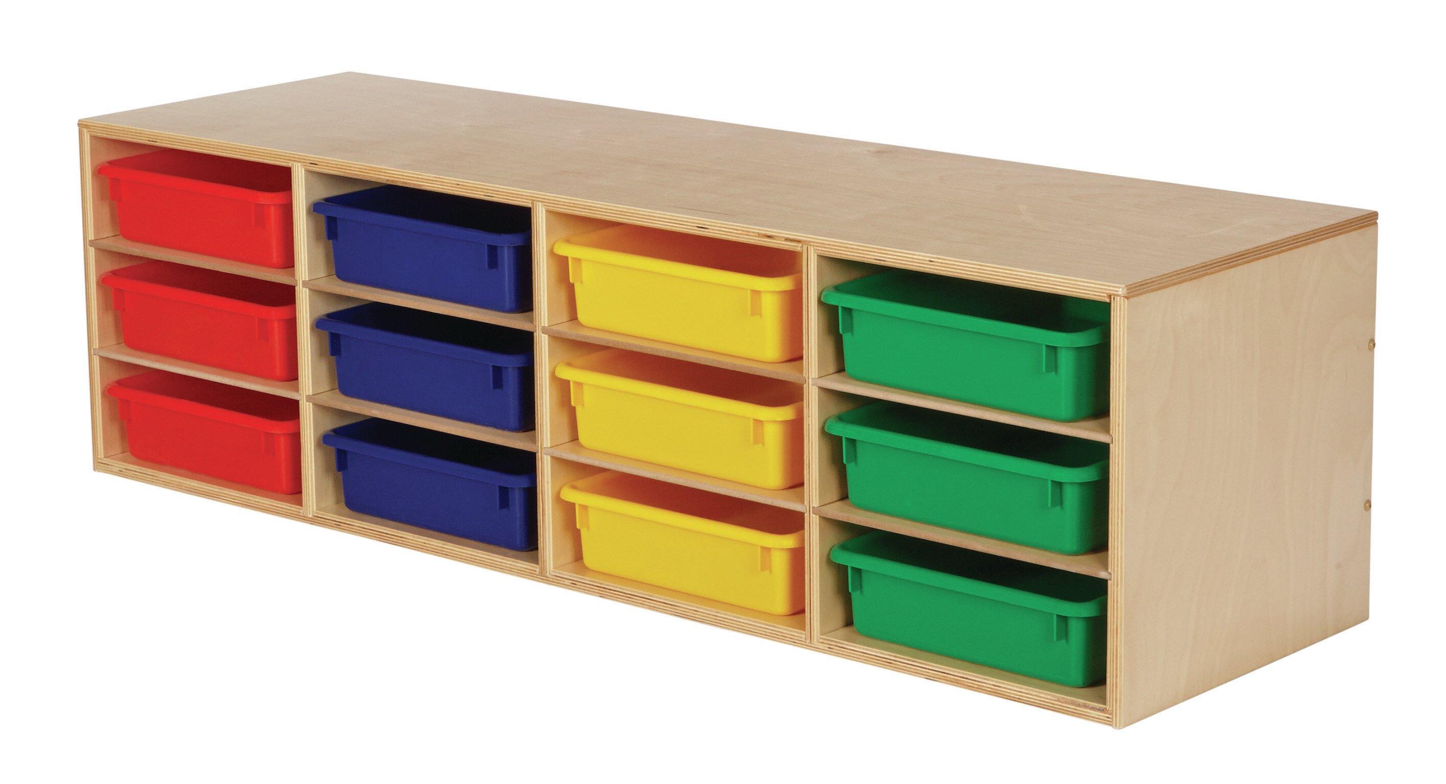Childcraft Stackable 12 Compartment Cubby Wayfair
