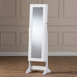 Persei Wood Jewelry Armoire with Mirror by Latitude Run