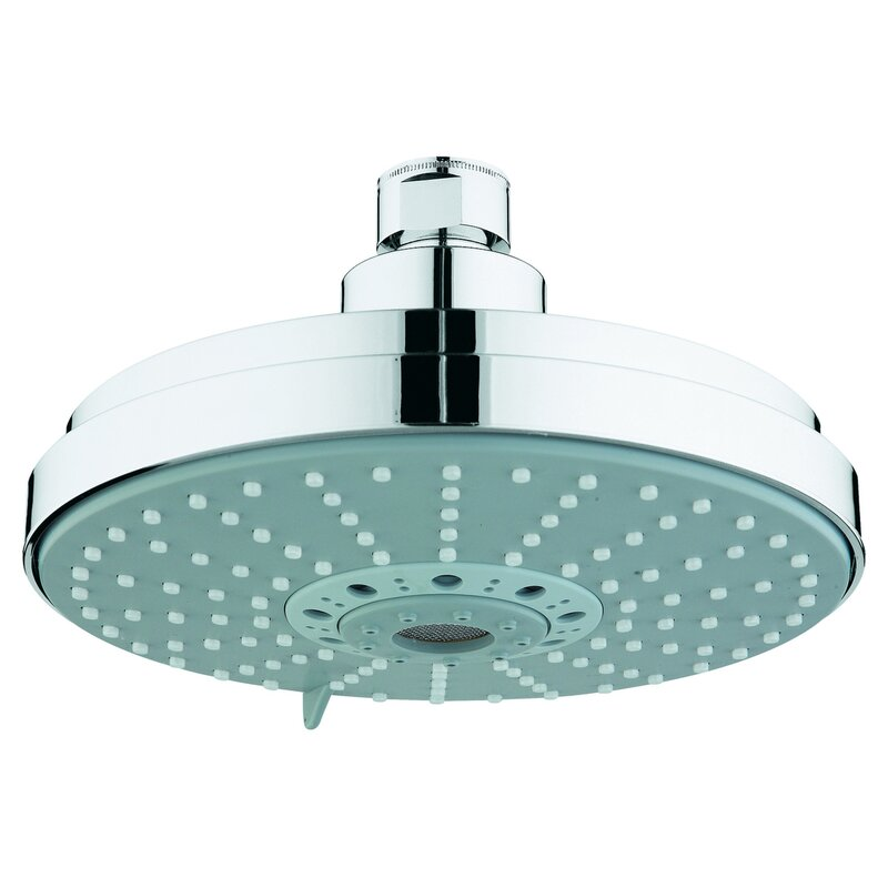 Grohe Rainshower Diveter Shower Head with DreamSpray & Reviews | Wayfair