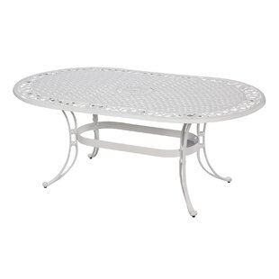 Six Oval Dining Table