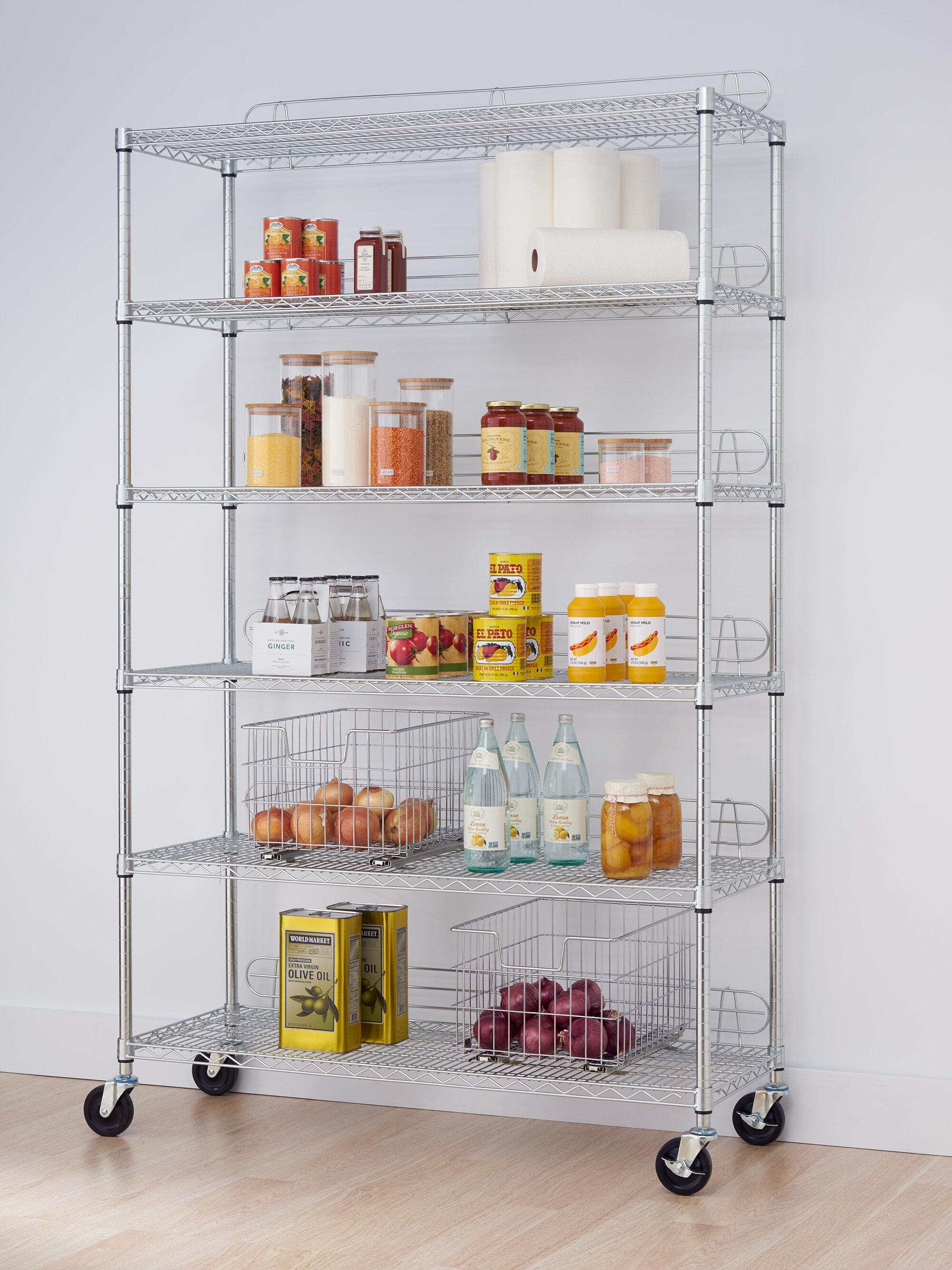 Top Image Wayfair Kitchen Shelving Units