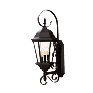 Best Reviews Prangins Outdoor Sconce By Astoria Grand