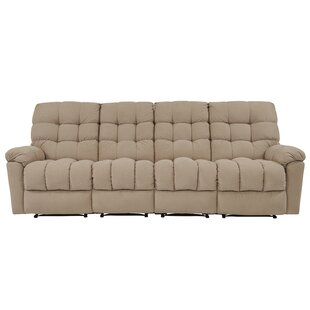 Shop Mayle Tufted Reclining Sofa by Red Barrel Studio