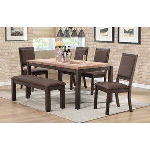 Pereyra 6 Piece Dining Set by Brayden Studio