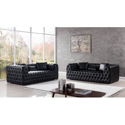 AmericanEagleInternationalTrading Gainsborough 2 Piece Living Room Set