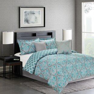 World Menagerie Fanetta 5 Piece Reversible Comforter Set