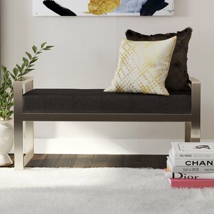 Lennon Upholstered Bench By Wade Logan