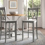 Lorraine Counter & Bar Stool (Set of 2) by Kelly Clarkson Home
