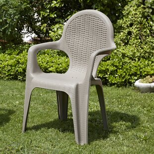 Seren Rattan Style Outdoor Stacking Dining Chair By Sol 72 Outdoor