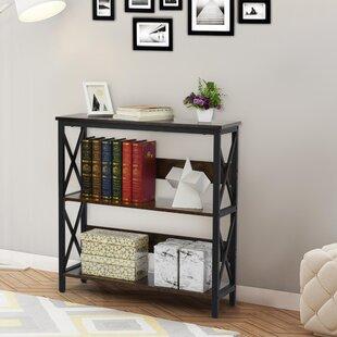 17 Stories 33'' H x 16'' W Steel Standard Bookcase | Wayfair