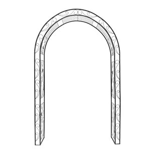 Ethier Rose Planter Arch By Lily Manor