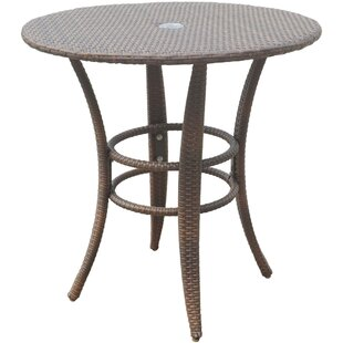 Key Biscayne Glass Bistro Table