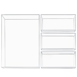 InterDesign 4 Piece Drawer Organize Set