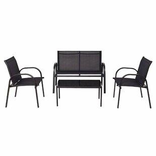 Wahkon 4 Seater Sofa Set By Sol 72 Outdoor