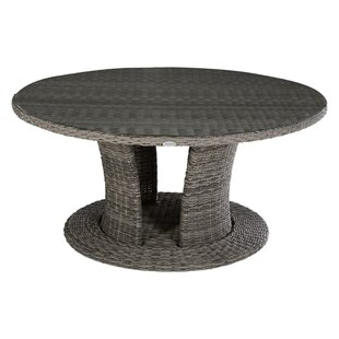 Bestla Rattan Dining Table By Sol 72 Outdoor