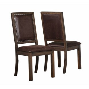 Waltman Upholstered Dining Chair (Set of 2) by Millwood Pines