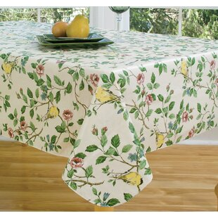 Round Fitted Vinyl Tablecloths Wayfair