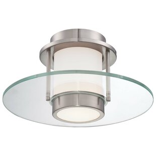 1-Light Flush Mount by Geo..